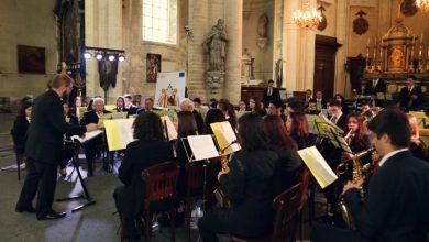 Photo of La banda de la Federació Catalana de Societats Musicals ofereix un concert emotiu i reivindicatiu a Brussel·les