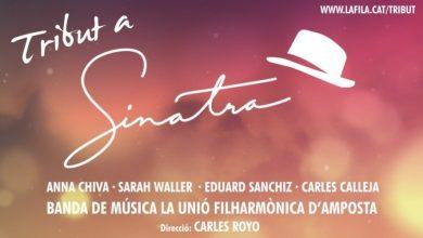 Photo of Frank Sinatra revisitat per la Unió Filharmònica d'Amposta