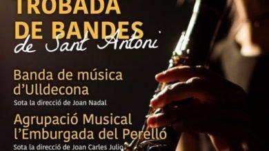 Photo of La Banda d'Ulldecona convidada a la Trobada de Bandes per Sant Antoni del Perelló