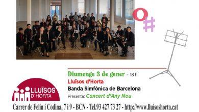 Photo of La Banda Simfònica de Barcelona innovarà en un concert d'Any Nou ple d'optimisme i ritmes alegres
