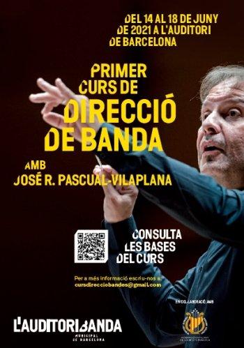 Primer Curs de Direcció de Banda amb José R. Pascual-Vilaplana